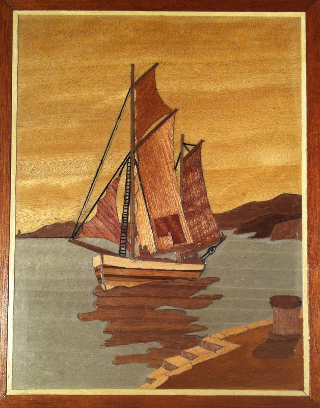 Geoff Margetson Leeds Marquetry Group